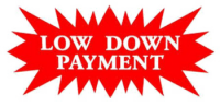 low down payment